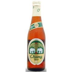 Chang Beer. This is a Thai beer, nothing special.