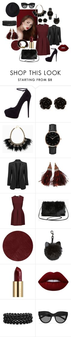 Fab Holiday Season Looks by crystalglowdesign on Polyvore featuring Sandro, Giuseppe Zanotti, Torrid, Louis Vuitton, Stella & Dot, Topshop, Bling Jewelry, Erica Lyons, Le Specs and Burberry
