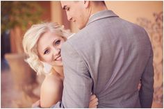 This would be a cute pose for engagement or couples too! Trevor Dayley Photography