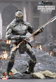 Hot Toys' The Avengers' Chitauri Foot Soldier
