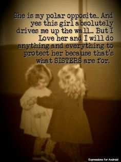 sisters. @Erica Cerulo Papenbrock love you seester