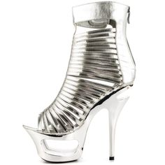 Samantha - Silver Ellie Shoes $94.99