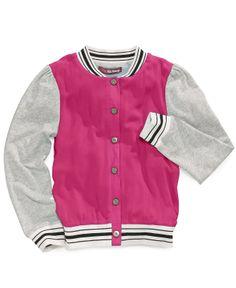 Epic Threads Girls' Varsity Jacket - Kids Girls 7-16 - Macy's