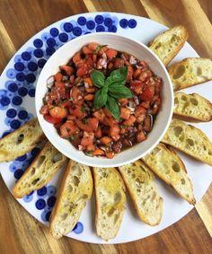 Bruschetta de Tomates | ENSALPICADAS