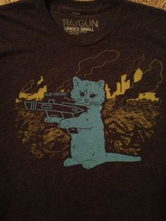 Raygun Sup Meow shirt (Limited Edition)