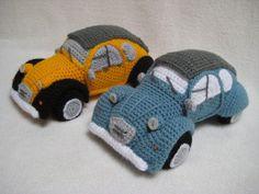 Ravelry: Classic French Car Amigurumi Dodoche by Millionbells Crochet Car, Crochet For Boys, Cute Crochet, Crochet Toys, French Classic, Classic Cars, Half Double Crochet, Single Crochet, Crochet Hook Sizes