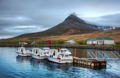 Bright outside for 4 AM; that's just the way it is in Isafjordur, Iceland. Photo by Trey Ratcliff  #treyratcliff at www.StuckInCustom... - all images Creative Commons Noncommercial.