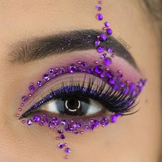 WEBSTA @ lucinda212 - Evening guys. I did this makeup dedicated to @brian_champagne whose birthday was last week and I totally missed it! I promised to do a diamanté purple makeup just for him! Happy Belated Birthday Brian! You are an amazing, inspirational, dedicated, supportive and your love is infectious! Hope you had a blast! ❤️ Details for this look: Brows: @anastasiabeverlyhills #anastasiabeverlyhills Dip Brow Pomade in Ebony@litcosmetics #litcosmetics I feel Love and Disco Div...