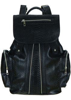 Un sac-à-dos zippé Topshop