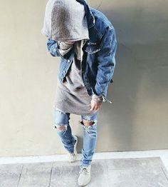 Fear of God fashion Men With Street Style, Urban Street Style, Men Street, Street Wear, Fashion Moda, Urban Fashion, Mens Fashion, Fashion Outfits, Street Fashion