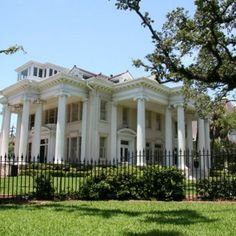 architecture in new orleans | The Mansions of St. Charles Avenue - New Orleans Architecture | eHow
