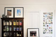 Vibe & feel, Jesse's Modern Bachelor Pad -- I think this is cool because A. design B. use of prints & pics C. there's your nice, wooden piece found from a cool store or salvaged. :)