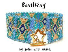 Julie Ann Smith Designs RAILWAY Bracelet par JULIEANNSMITHDESIGNS