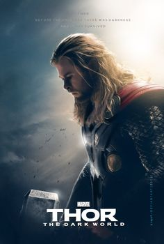 Alternative Thor: The Dark World poster.
