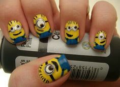 Nails minion!!!!!!!♥♥♥♥♥♥
