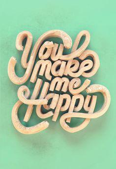 You Make Me Happy by Batoul et Mehdi Dahmane, via Behance