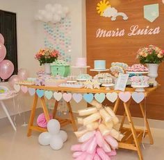 the little known secrets to baby shower ideas for girls themes 42 Baby Tea, Love Decorations, Shower Bebe, Ideas Para Fiestas, Unicorn Party, 1st Birthday Parties, Baby Shower Parties, Dessert Table, Party Planning