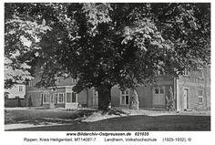 Rippen, Landheim, Volkshochschule