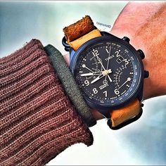 Shout out to my friends at @practicalwatch ! They are determined to bring you the best selection of unique timepieces under $1500. Check out their page / website now   My Timex Flyback Chrono dedicated to Chris ! ------------------------------------------------------------ #PracticalWatch #Bearwrist #Timex #WatchFam #HKIG @practicalwatch @timex @watchingthetime by bearwrist
