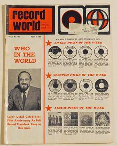 Record World Magazine (8-10-68)