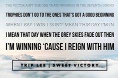 Trip Lee - Sweet Victory   fb.com/ccftn   #dailydose   Christian Lyric