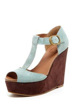 Sandy Wedge Sandal