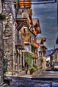Pyrenees Village . Spain