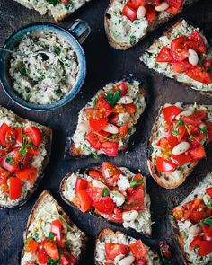 """David Frenkiel on Instagram: """"I've got one recipe and one job ad for you today. First: The recipe. You should make this garlic rubbed bruschetta with summer tomatoes…"""" Summer Tomato, Job Ads, One Job, Meals For One, Bruschetta, Get One, Tomatoes, Garlic, David"""