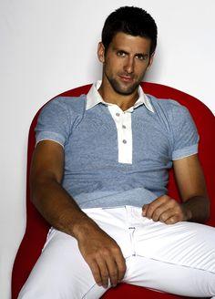 Hello Novak! #tennis #ausopen www.australianopen.com #Djokovic
