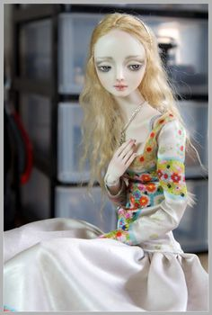 It is not the world of smiles: Enchanted Dolls by Marina Bychkova - 39