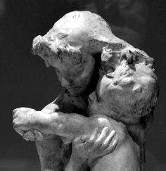 Frère et sœur par Auguste RODIN (1840-1917) avant 1897. Plâtre. Dépôt du Musée des Arts décoratifs de Paris au Musée Camille Claudel de Nogent-sur-Seine. Photo : Hervé Leyrit