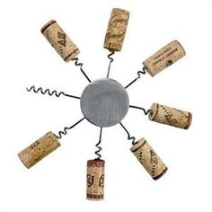 The Sunburst Wine Cork Trivet lets you create a functional trivet with your wine corks! Pop those wine corks and create a unique cork trivet with this fun kit.