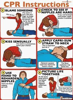 CPR Instructions.