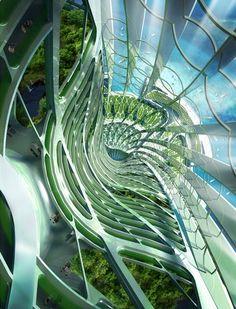 Hydrogenase by Vincent Callebaut | Dezeen