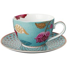 Buy PiP Studio Fantasy Cappuccino Cup & Saucer Online at johnlewis.com