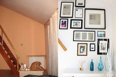 Before/After Gallery Wall, Architecture, Frame, Home Decor, Projects, Picture Frame, Frames, A Frame, Interior Design