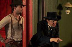 Nick Brown  and John Lehr in Quickdraw (Hulu original series)