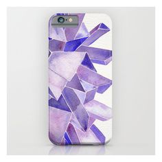 Amethyst Watercolor iPhone 6s Case (1,650 DOP) ❤ liked on Polyvore featuring accessories, tech accessories and iphone & ipod cases