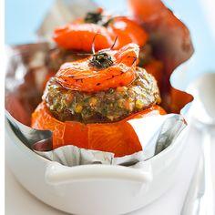 La recette des tomates farcies de la grand-mère d'Anne-Sophie Pic. A essayer de toute urgence !