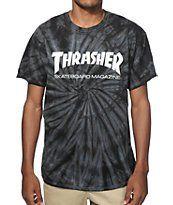Thrasher Skate Mag Spider Dye T-Shirt