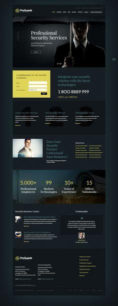 Security Company WordPress Theme | Security Company WordPress Theme ...