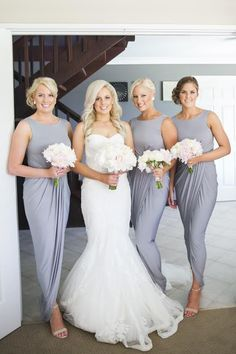 Another one of our gorgeous November brides based in Western Australia, Shelley Hardingham pictured below with her bridesmaids wearing the Bessy Dress by Pia Gladys Perey!
