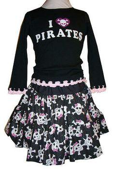 Pirates 2 Piece Twirly Skirt Set Price: $42.95