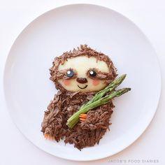 Sloth by JACOB'S FOOD DIARIES (@jacobs_food_diaries)