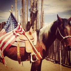 """""""Proud to be an American"""" by Mandy Larremore, #shootingalpine photo contest semifinalist! #alpinetexas"""