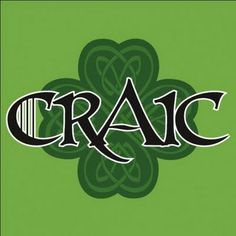"Previous pinner>>Craic (pronounced crack) is a Gaelic word with no exact English translation. To the Irish it means fun, having a good time. Me: ""Crack"" means having a good time in Gaelic. That is so Irish. Celtic Pride, Irish Pride, Irish Celtic, Irish Fans, Books Art, Gaelic Words, Irish Quotes, Irish Sayings, Celtic"