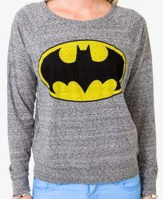 Heathered Batman™ Raglan Top