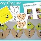 Kindergarten Number Counting Activity  Number Counting  Printable Math Activity  Printable  Numbers  Bulletin Board Ideas  Teachers Resources