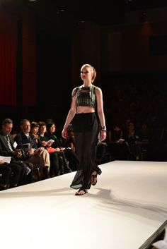 Jaclyn White, Graduate Runway Fashion Collection at Redefining Design 2014. The School of Fashion at Seneca College. #RedefiningDesign