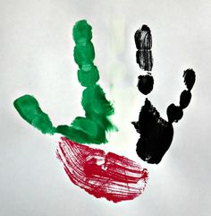 UAE Flag Day Crafts and Activities for Toddlers and Pre-schoolers - AS they grow Toddler Crafts, Toddler Activities, Crafts For Kids, Children's Day Craft, Kuwait National Day, Eid Cards, Country Crafts, Child Day, Halloween Crafts